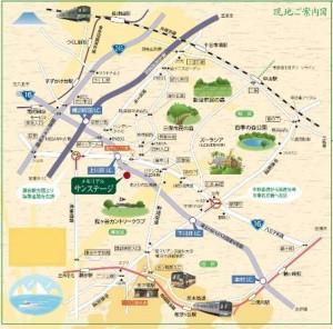 サンステージ地図